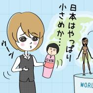 世界に比べ日本人の平均カップが残念な結果に!でも事実は?