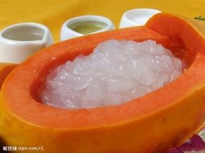 木瓜燉雪蛤 ハスモ