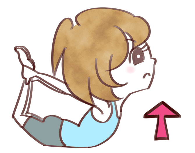 弓のポーズ